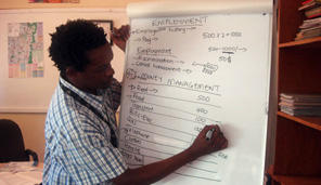 Employment flipchart in Nairobi 296