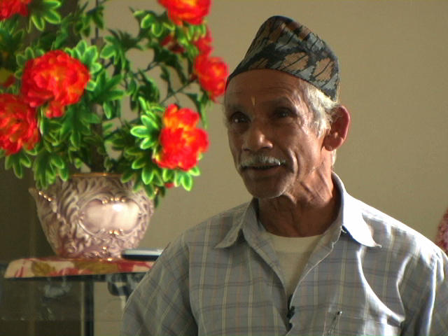 An older Bhutanese man
