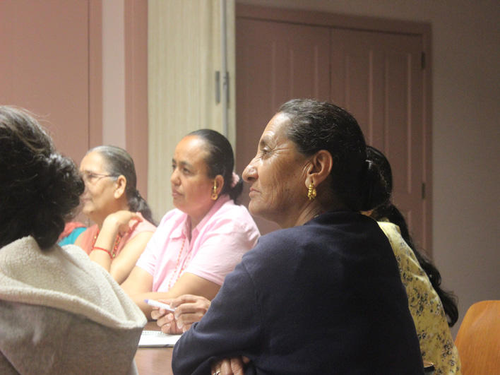 Attentive participants in orientation