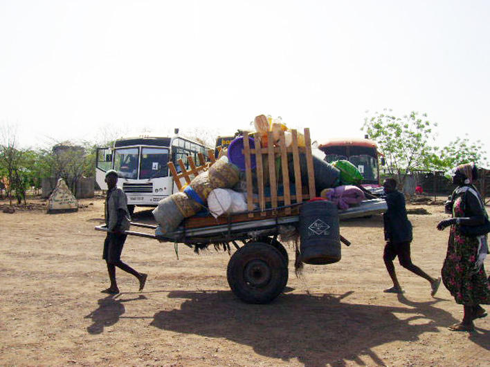 Cart in Kakuma Refugee Camp