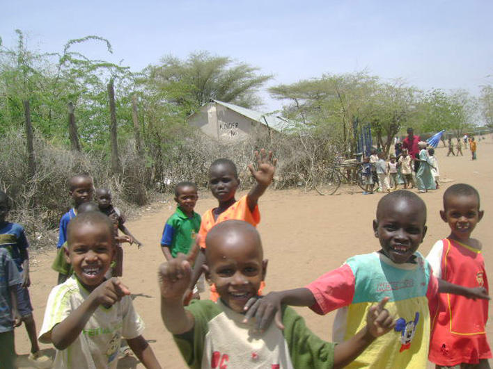 Children in Kakuma Refugee Camp