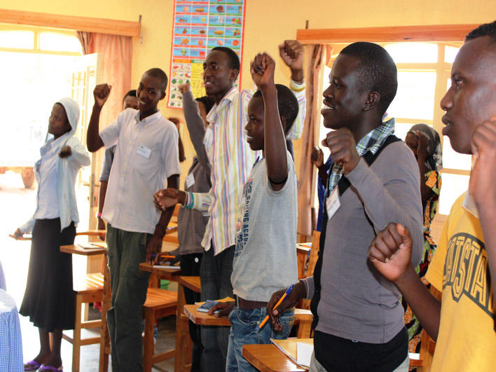 Congolese CO class in Rwanda: Energizing activity